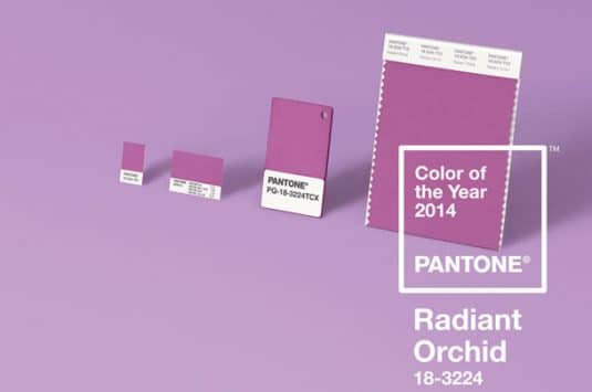 Radiant Orchid To Brighten Model Homes in 2014